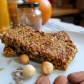 Spiced fruit, nut and seed porridge bars (aka oatmeal/granola bars)